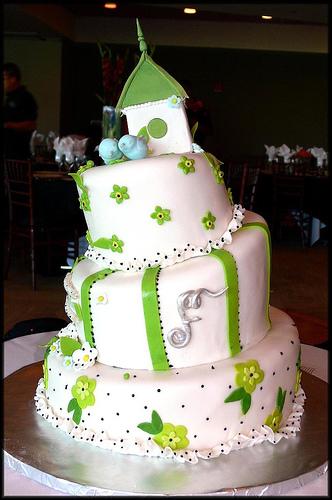love bird cake