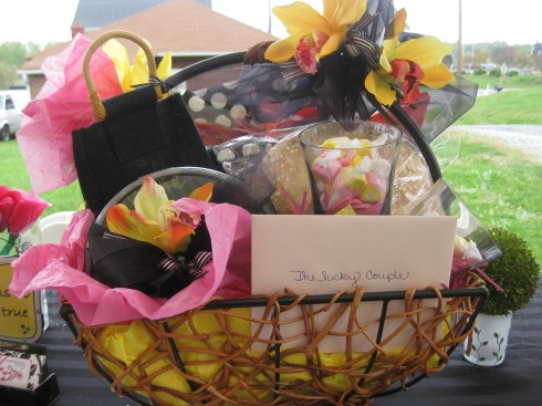 giveaway basket