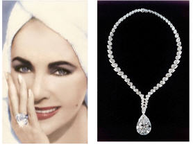 elizabeth taylor is famous for her numerous engagement rings all of them being more than double digits in size richard burton gave taylor two engagement - Elizabeth Taylor Wedding Ring